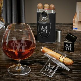 Oakmont Personalized Grand Cognac Gifts for Cigar Lovers