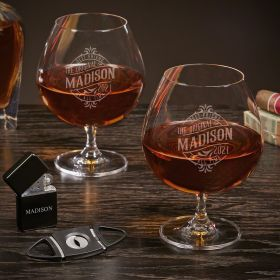 Maddux Custom Grand Brandy Snifter Set