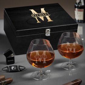 Oakmont Personalized Grand Cognac Gift Basket