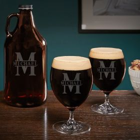 Oakmont Custom Grand Craft Beer Glasses Set
