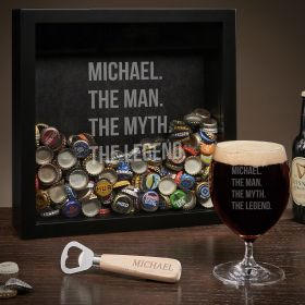 Man Myth Legend Engraved Grand Gifts for Beer Lovers