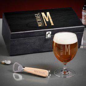 Elton Engraved Grand Beer Gift Basket