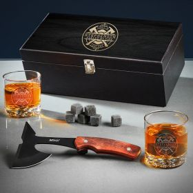 Firefighter Brotherhood Custom Whiskey Gifts for Firefighters