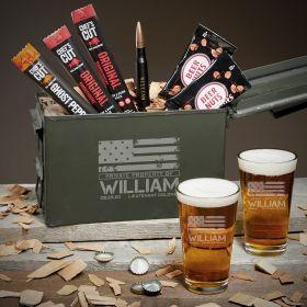 American Heroes Custom 50 Cal Beer Military Gifts