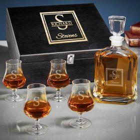 Oakhill Custom Argos Whiskey Decanter Set