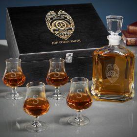Police Badge Custom Argos Whiskey Police Gifts