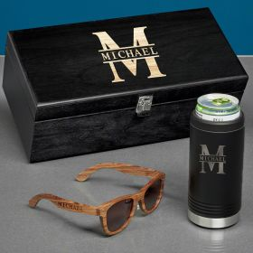 Oakmont Custom Seltzer Slim Can Cooler Box Set