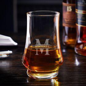 Oakmont Engraved Duke Kenzie Whisky Tasting Glass