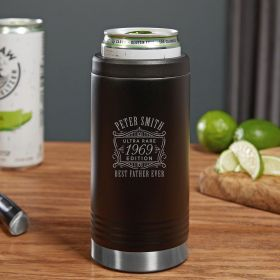 Ultra Rare Edition Engraved Seltzer Slim Can Cooler