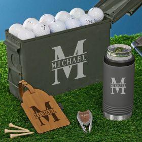 Oakmont Engraved 30 Cal Gunmetal Cooler Golf Gifts
