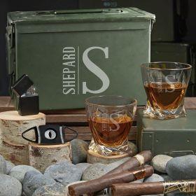 Elton Custom 50 Cal Twist Whiskey Gift Set