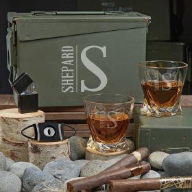 Elton Custom 30 Cal Twist Whiskey Gift Set