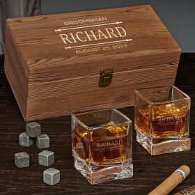 Stanford Engraved Yorke Whiskey Gifts for Men