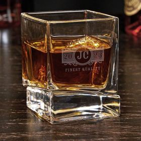 Marquee Personalized Yorke Whiskey Glass