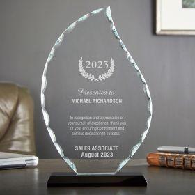 Medium Flame Personalized Employee Award