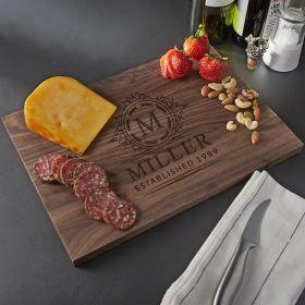 Hamilton Custom Walnut Cutting Board - Small