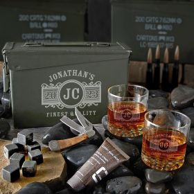 Marquee 30 Cal Personalized Manly Gifts