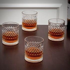 Truman Set of 4 Crystal Whiskey Glasses