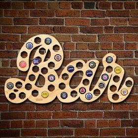 Bar Sign Beer Cap Holder