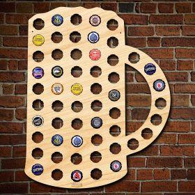 Beer Mug Beer Cap Map