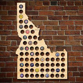 Idaho Beer Cap Map