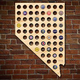 Nevada Beer Cap Map