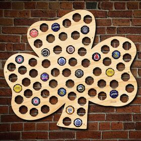 Shamrock Beer Cap Map