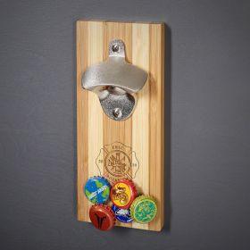 Firefighter Custom Magnetic Bottle Opener