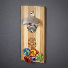 Police Badge Custom Magnetic Wall Mount Bottle Opener