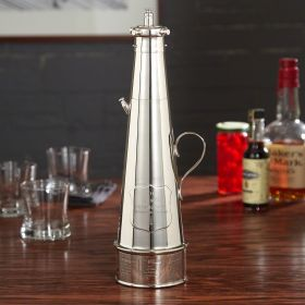 The Thirst Extinguisher Silver-Plated Cocktail Shaker
