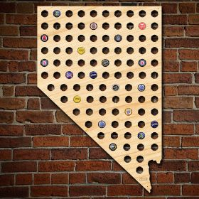 Giant XL Nevada Beer Cap Map