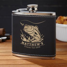 Big Catch Personalized Flask for Fishermen