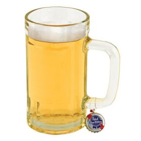 Recycled Beer Cap Mug Charms  6pc.