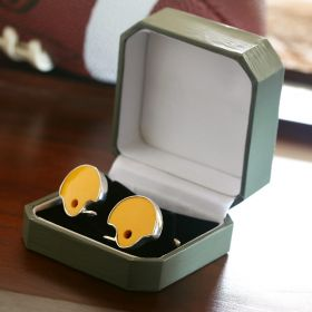 LSU Cufflinks - Made from Real LSU Football Helmets