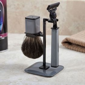 Refined Gent Shaving Kit, Dark Grey