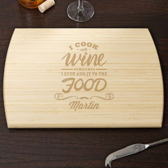 5th Wedding Anniversary Gift Ideas 60 Popular Cook with Wine Personalized