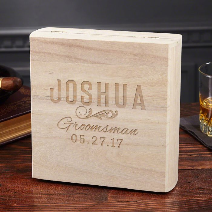 5th Wedding Anniversary Gift Ideas 16 Luxury Classic Groomsman Custom Flask