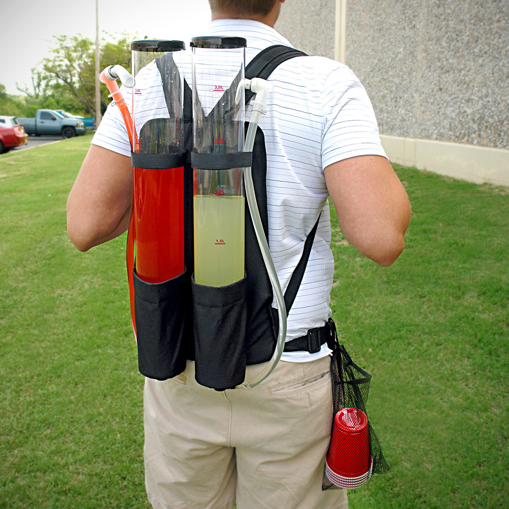Tailgater Dual Tank Backpack Drink Dispenser 210 oz