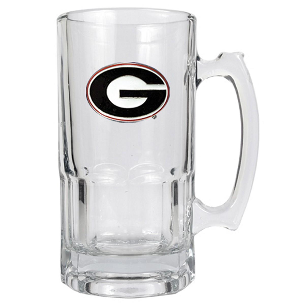 Georgia Bulldogs Large Beer Mug (Engravable)