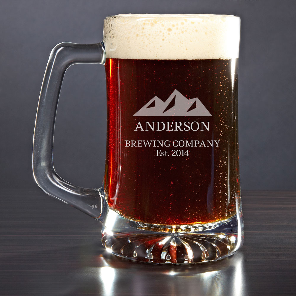 Rocky Mountains Personalized Beer Mug