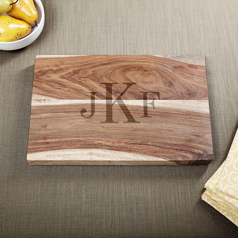 Exotic-Hardwood-Classic-Monogram-Cutting-Board