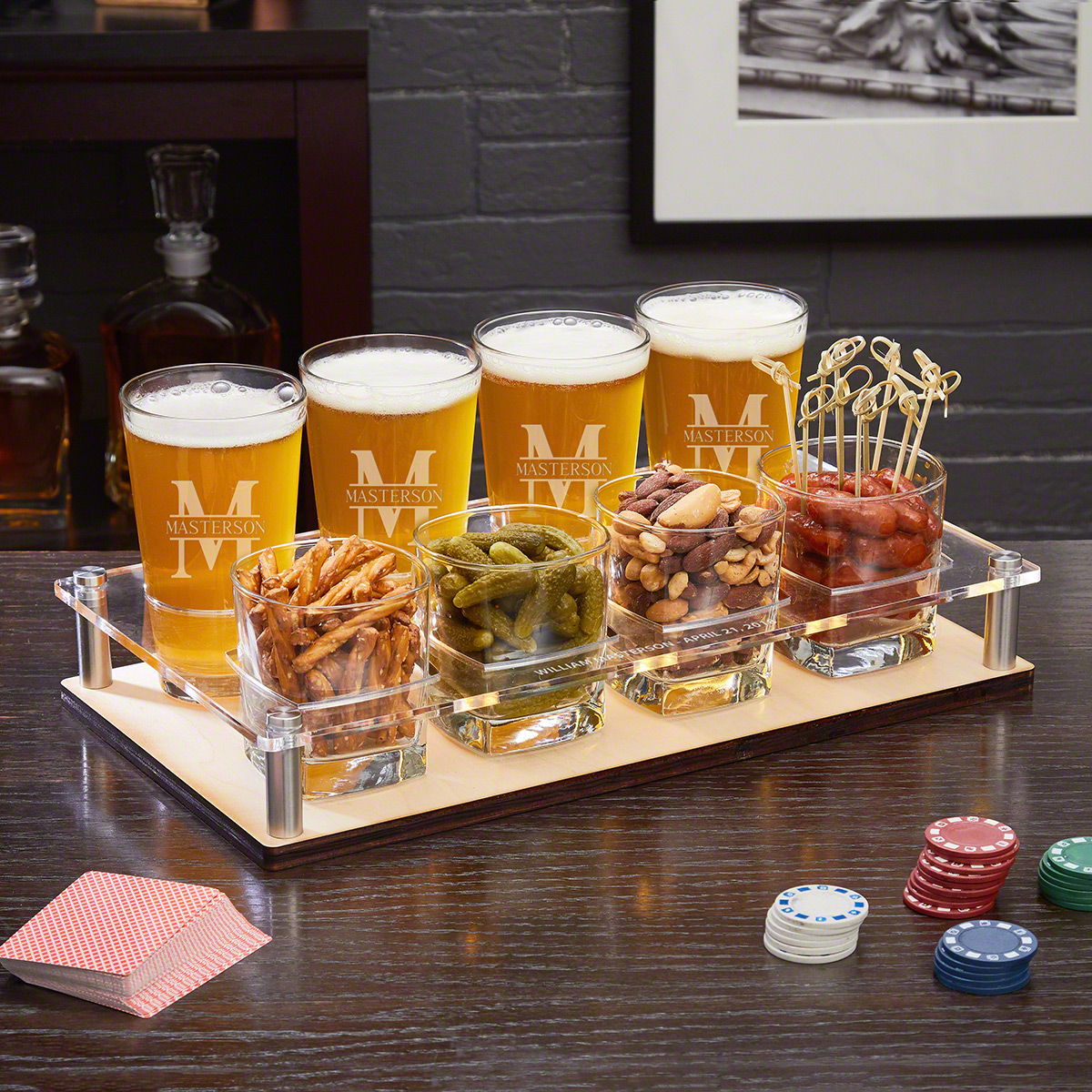 Oakmont-Personalized-Appetizer-and-Drink-Serving-Set