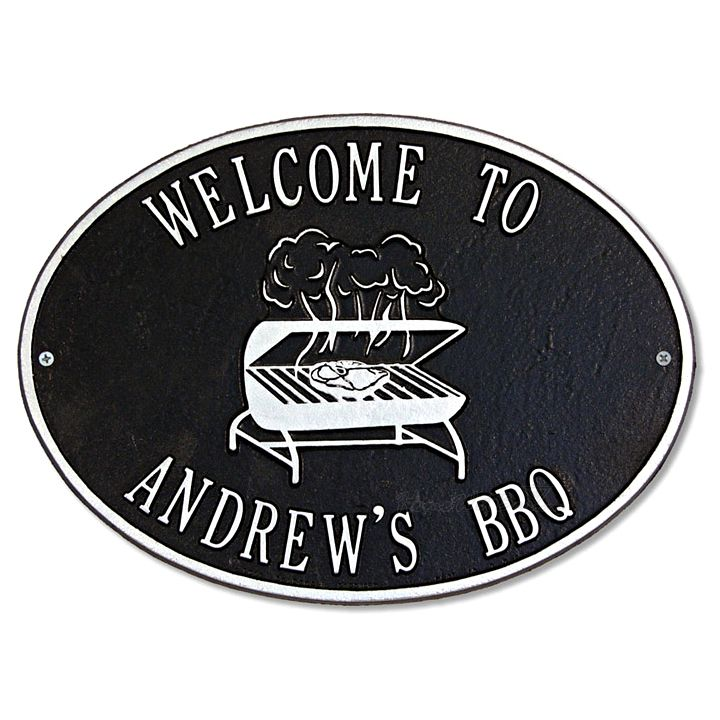 Personalized-BBQ-Grill-Outdoor-Metal-Plaque