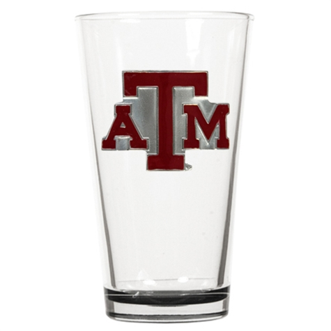 Texas A&M Aggies Beer Pint Glass - Color (Engravable)