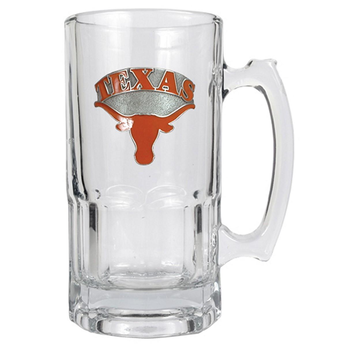 Texas Longhorns Large Beer Mug (Engravable)
