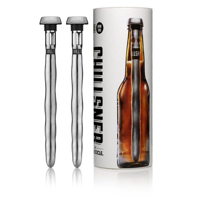 Chillsner In-Bottle Beer Chiller, Set of 2