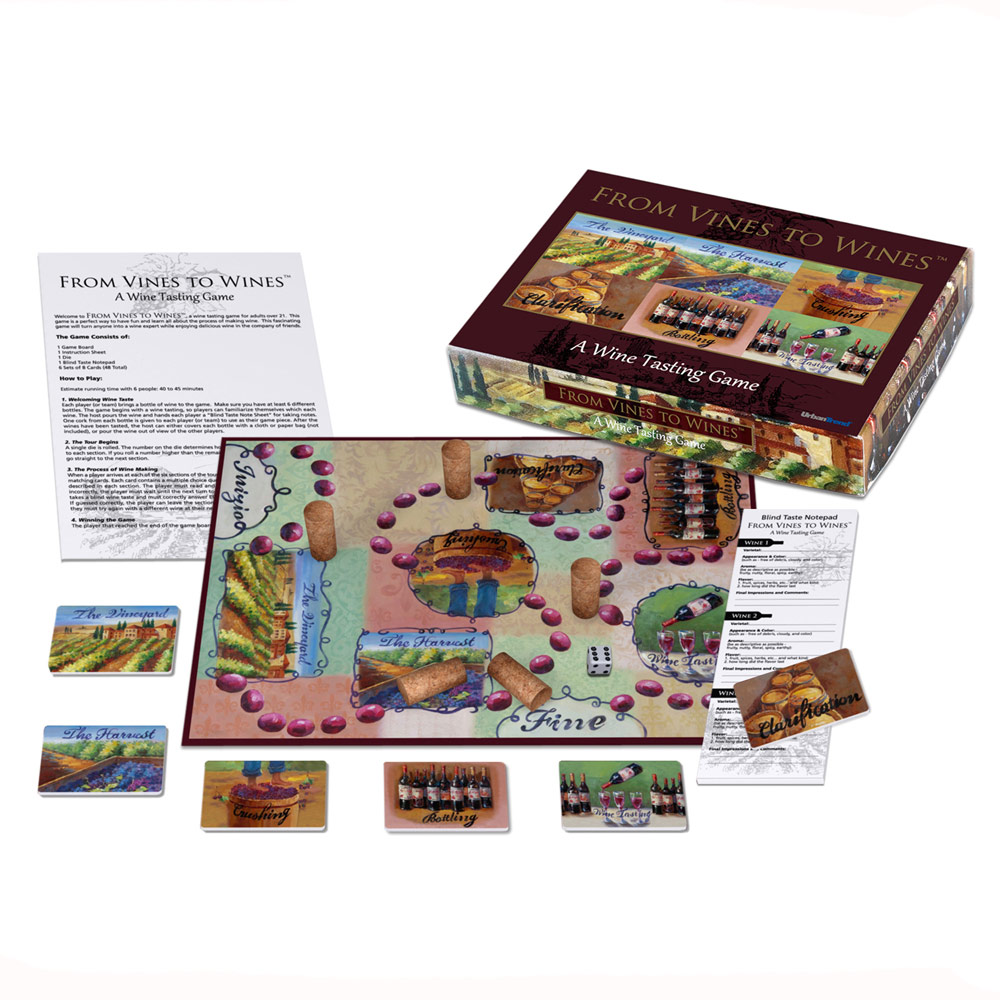 From Vines to Wines Board Game