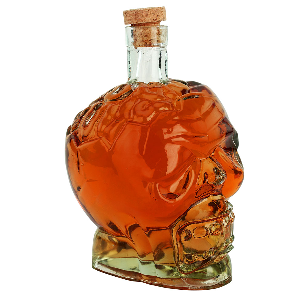 Zombie-Head-Glass-Skull-Decanter
