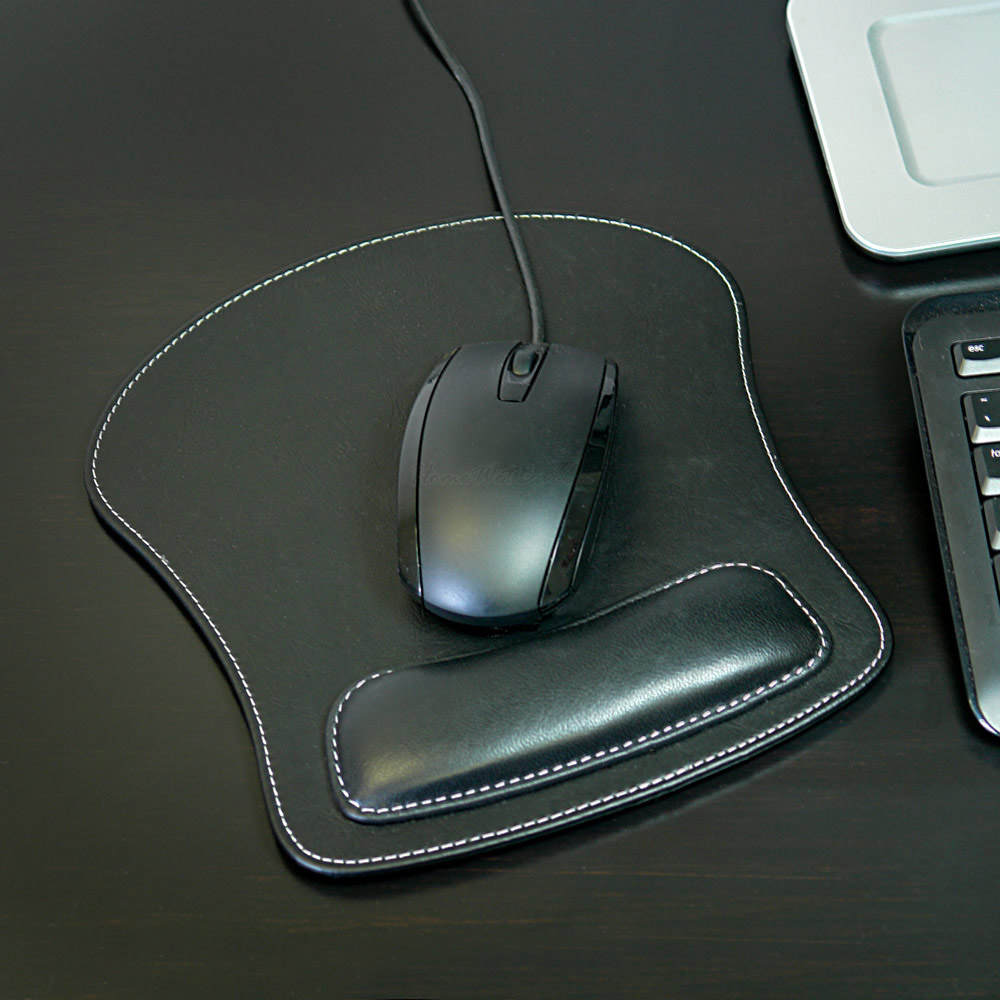 Leather-Mouse-Pad-with-Wrist-Rest