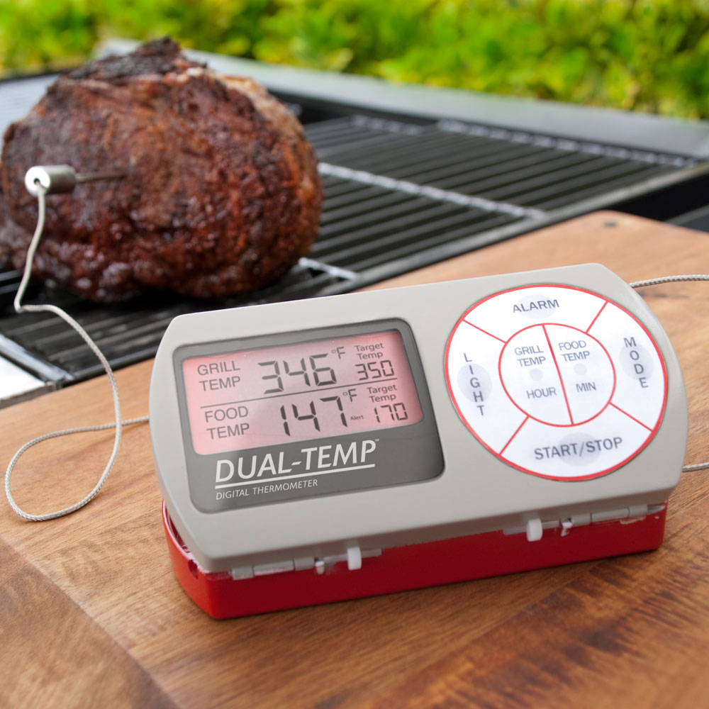 Dual-Temp Digital Meat Thermometer